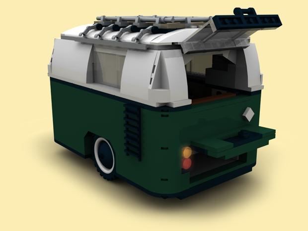 CUSTOM PDF Bauanleitung Wohnwagen Anhänger für LEGO ...