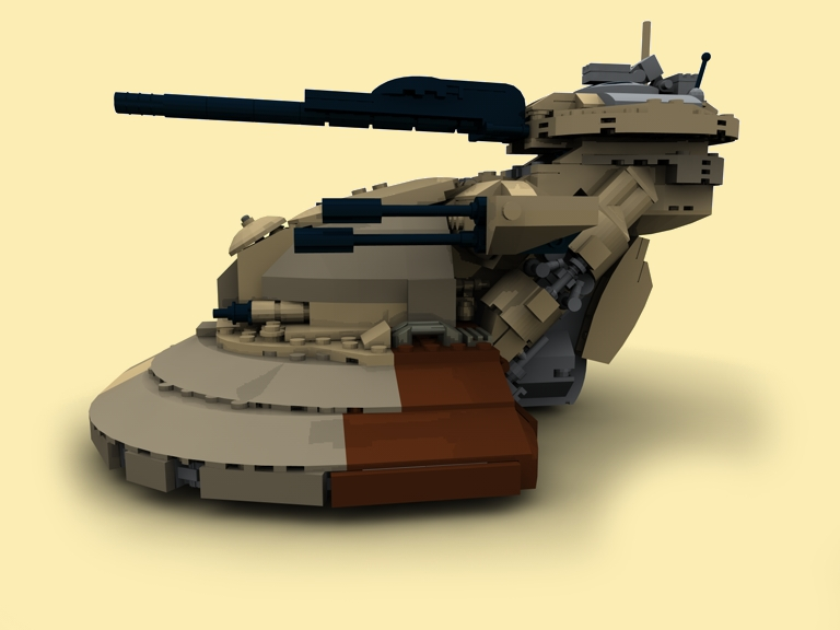 custom pdf instructions aat tank for lego bricks zb. Black Bedroom Furniture Sets. Home Design Ideas