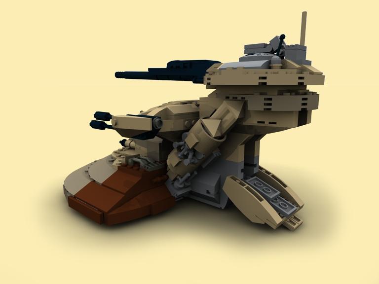 custom pdf instructions aat tank for lego bricks zb star wars 8018 7155 9516 ebay. Black Bedroom Furniture Sets. Home Design Ideas