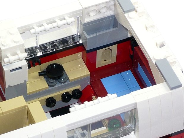 custom modell wohnwagen trailer aus lego steinen zb f r. Black Bedroom Furniture Sets. Home Design Ideas