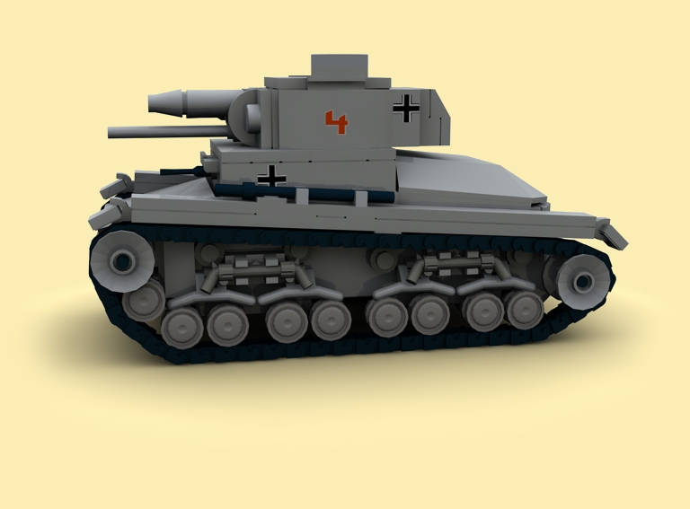 custom bauanl ww2 wwii german panzer pzkpfw 35t tank pdf. Black Bedroom Furniture Sets. Home Design Ideas