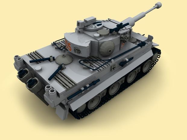 custom pdf bauanleitung ww2 wwii panzer pzkpfw vi tiger f r lego steine tank ebay. Black Bedroom Furniture Sets. Home Design Ideas
