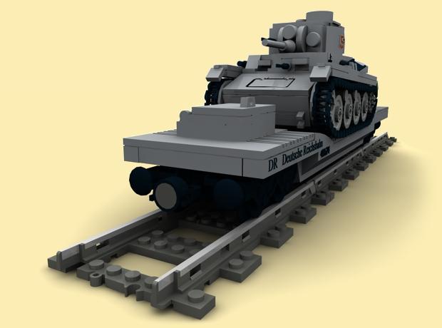 custom pdf bauanl ww2 wwii eisenbahn panzer 38t transporter f r lego steine ebay. Black Bedroom Furniture Sets. Home Design Ideas