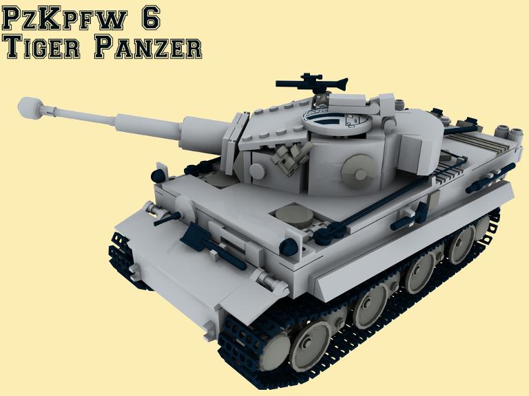 custom bauanl 6 ww2 panzer king tiger panther wehrmacht tank aus lego steinen ebay. Black Bedroom Furniture Sets. Home Design Ideas