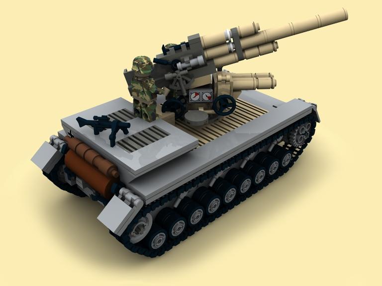 custom bauanl ww2 wwii pzkpfw iv flak36 pak88 panzer4 tank pdf f r lego steine ebay. Black Bedroom Furniture Sets. Home Design Ideas