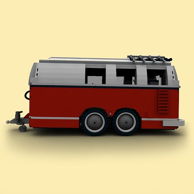 custom pdf bauanleitung wohnwagen 2achser anh nger f r. Black Bedroom Furniture Sets. Home Design Ideas