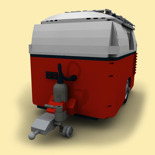 custom pdf bauanl wohnwagen f r lego steine z b f r. Black Bedroom Furniture Sets. Home Design Ideas