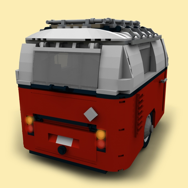 custom pdf bauanl wohnwagen f r lego steine z b f r 10220 t1 anh nger ebay. Black Bedroom Furniture Sets. Home Design Ideas