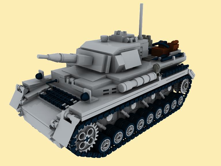 custom bauanl pzkpfw 4 wwii ww2 panzer army tank. Black Bedroom Furniture Sets. Home Design Ideas
