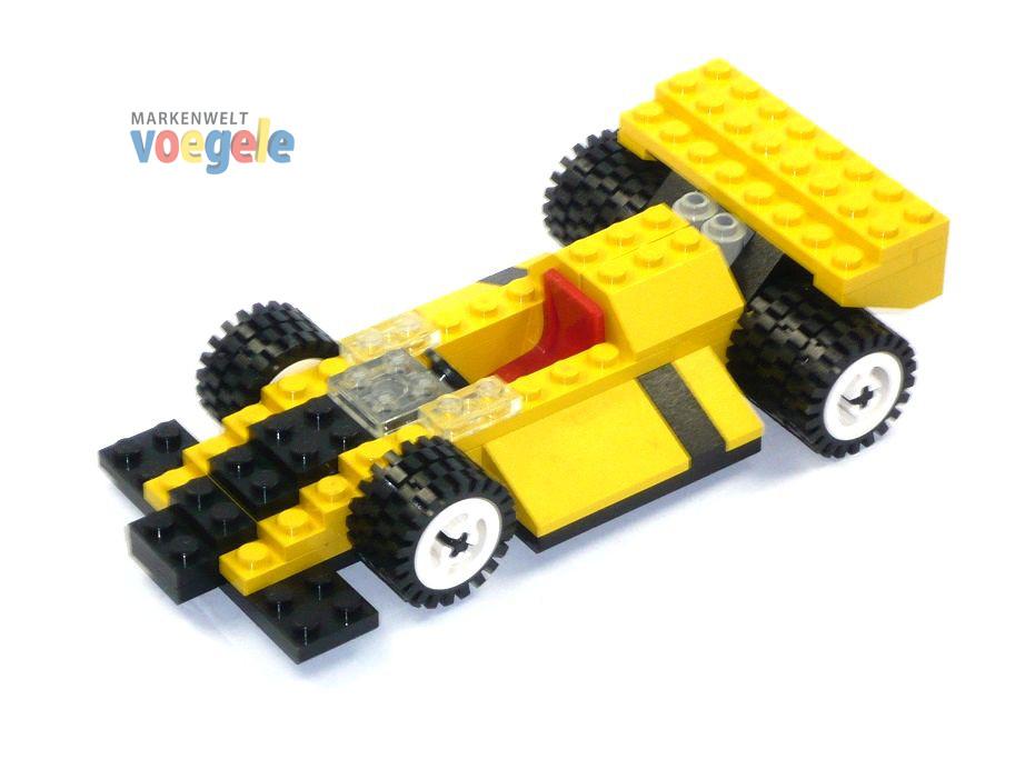 lego alter rennwagen auto in gelb formel 1 technik top ebay. Black Bedroom Furniture Sets. Home Design Ideas