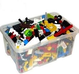 schwarz aus Star Wars tan Harry Potter usw.* * 1 kg  LEGO® Sonderfarben grau