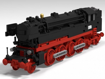 BlueBrixx Train  Steam locomotive BR 65  658  parts