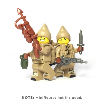 Lego ww2 british soldiers