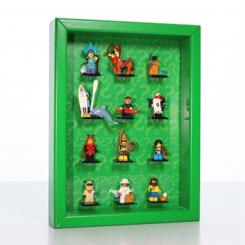 ClickCase Display for LEGO® series 21 (71029) with 12 figure holders