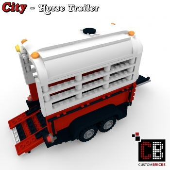 lego horse trailer instructions