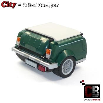 cb custombricks modell camper f r den mini 10242 made of lego bricks markenwelt voegele. Black Bedroom Furniture Sets. Home Design Ideas