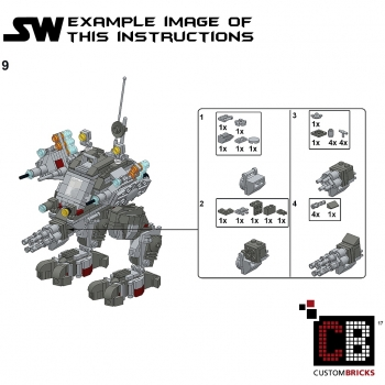Lego Star Wars Custom Walker Instructions