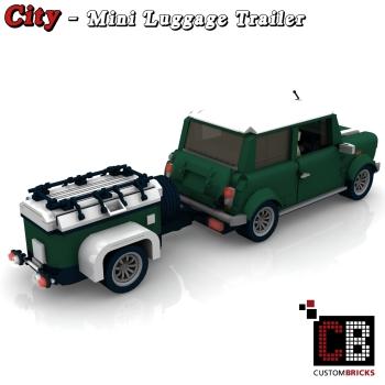 custom instruction for luggage trailer for mini 10242 markenwelt voegele. Black Bedroom Furniture Sets. Home Design Ideas
