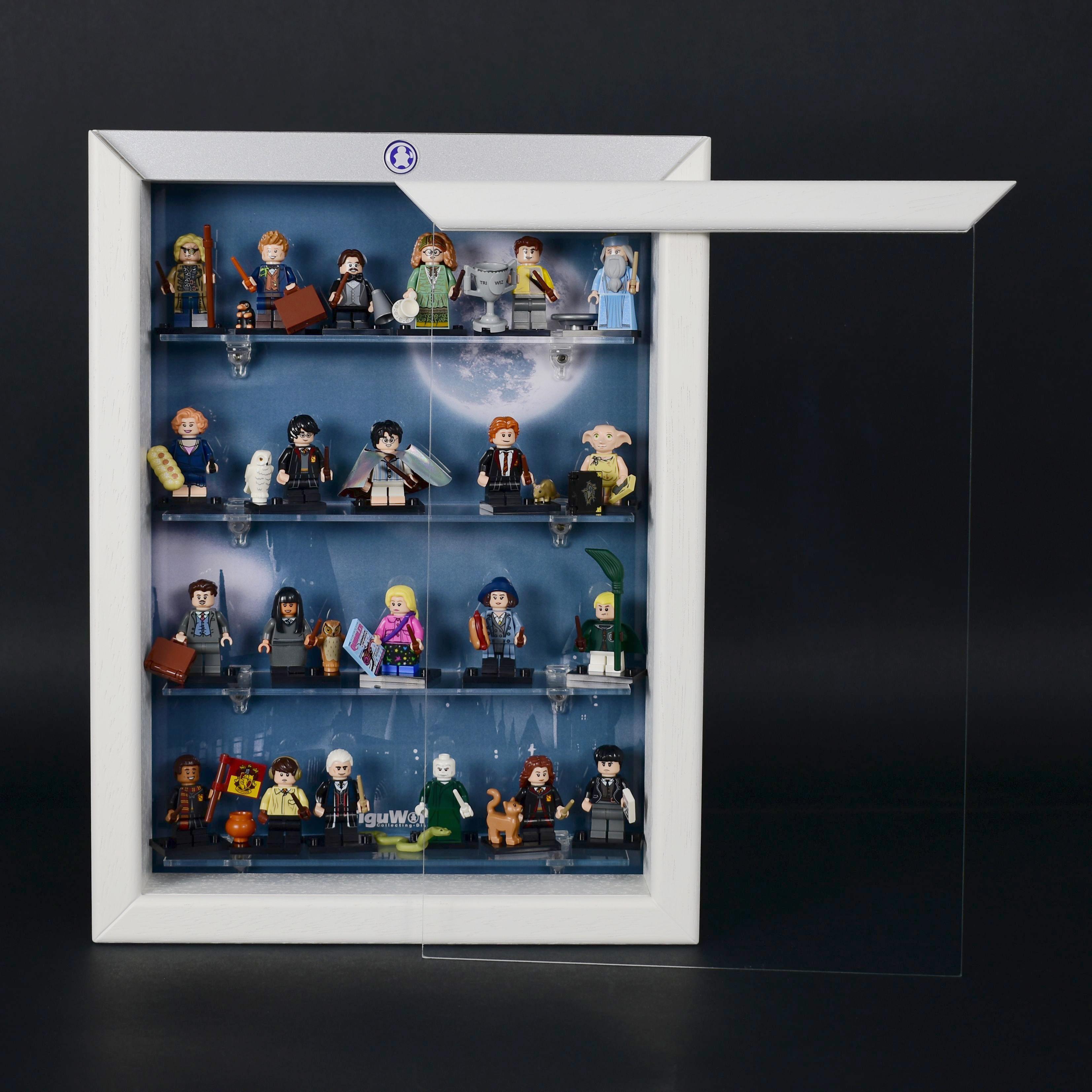figumultiregal system vitrine f r eure lego serie 71022. Black Bedroom Furniture Sets. Home Design Ideas