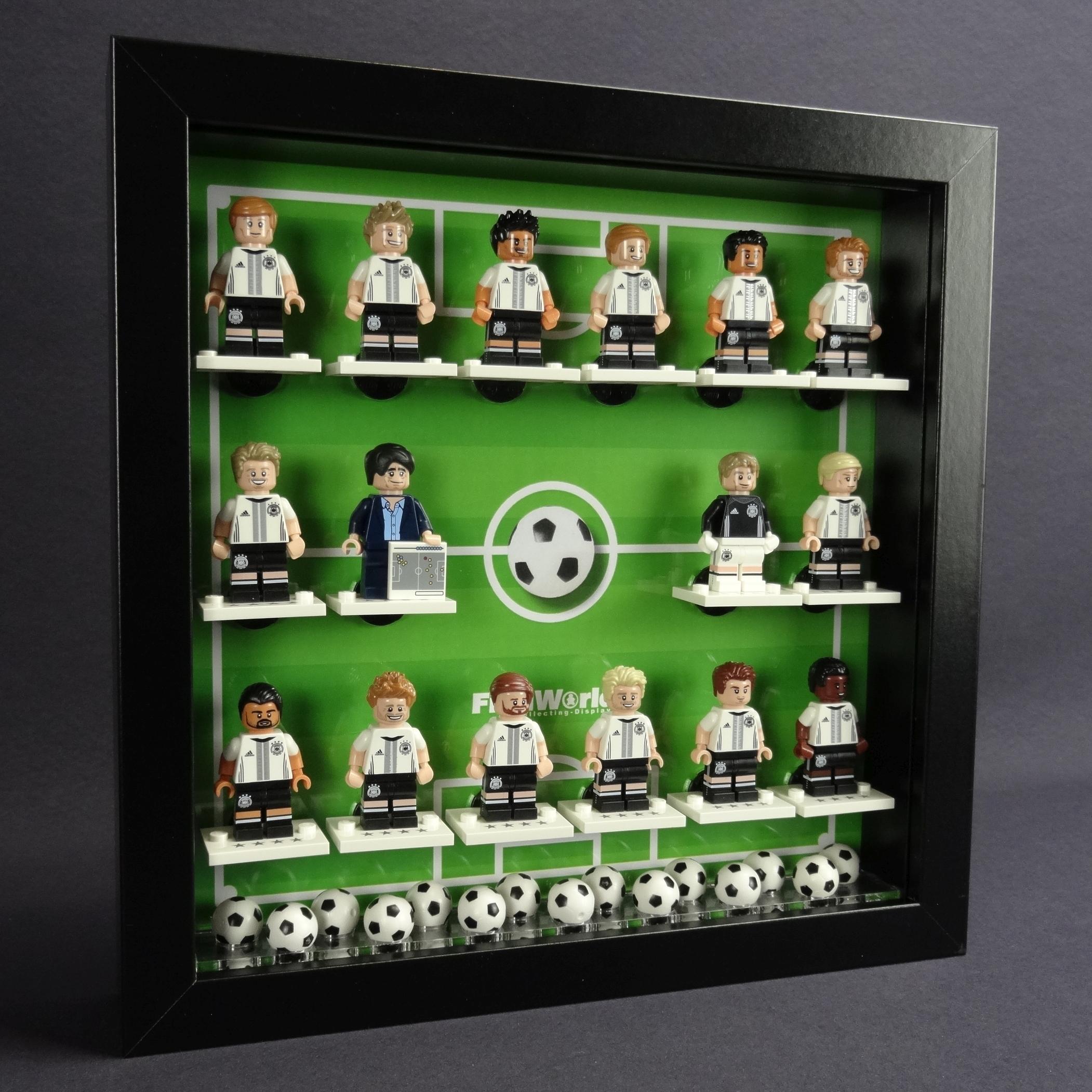 Figucrate Vitrine 25 X 25 Setzkasten Für Lego Figuren Serie Dfb Em