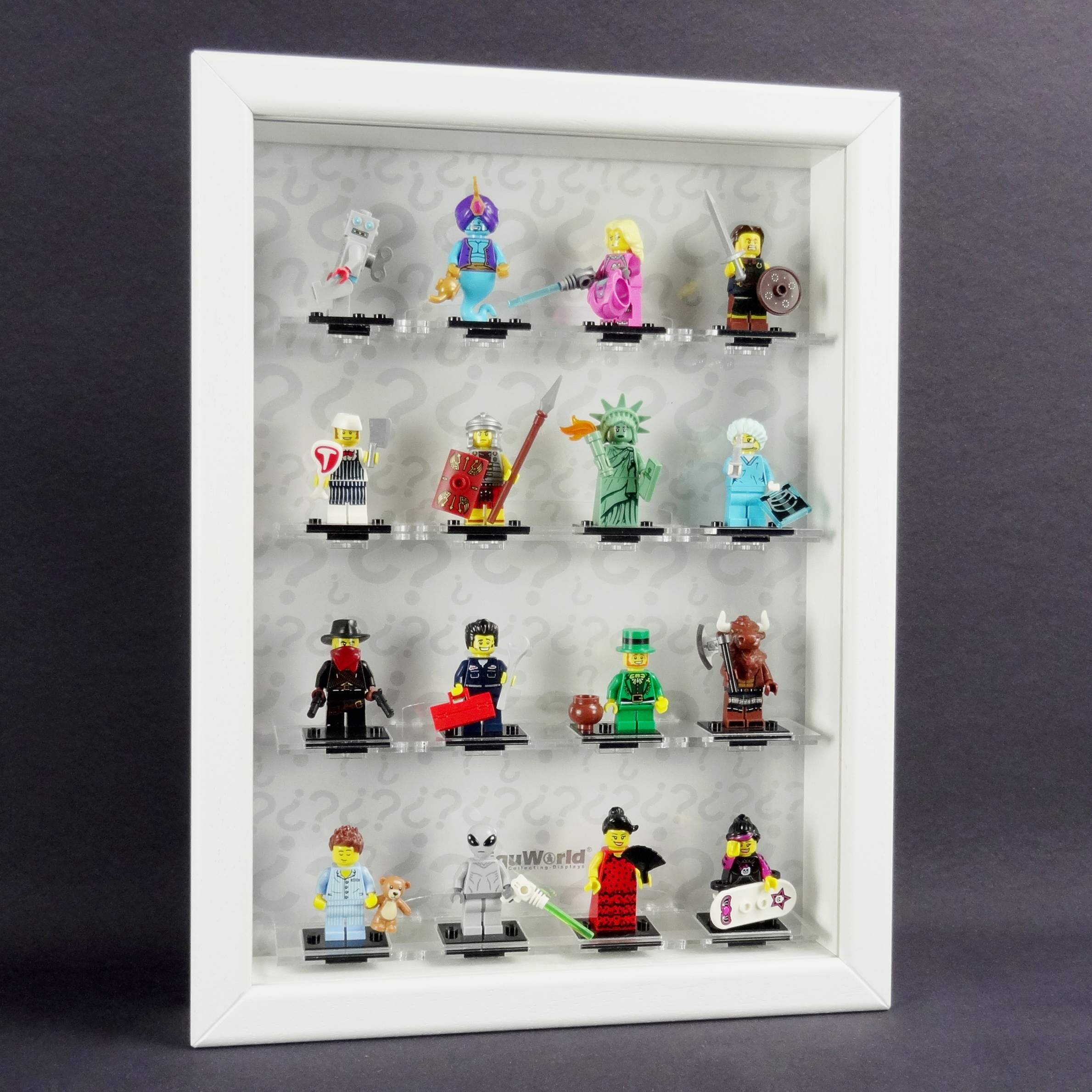 Figucase Collection showcase for LEGO® Series 8827 minifigures Serie ...