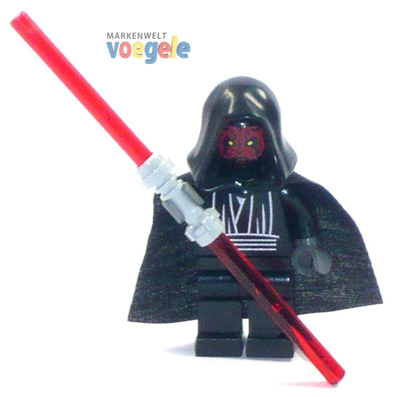 custom star wars figur darth maul mit doppellaserschwert aus lego teilen markenwelt voegele. Black Bedroom Furniture Sets. Home Design Ideas