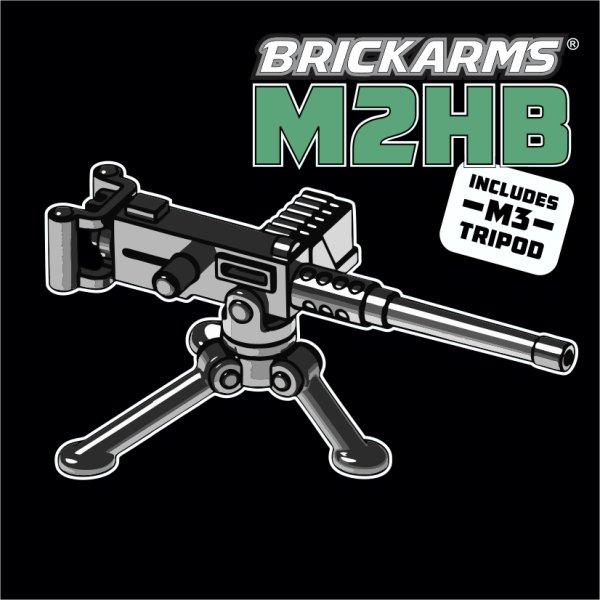 Custom BrickArms Waffe M2HB Machine Gun - Markenwelt Voegele