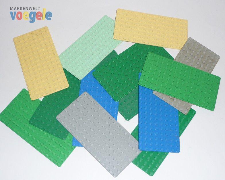 lego 5 platten in verschiedenen farben 8 x 16 noppen markenwelt voegele. Black Bedroom Furniture Sets. Home Design Ideas
