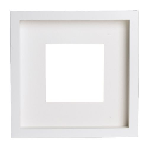 Ribba frame 25 x 25 for figurine in white - Markenwelt Voegele