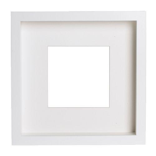 Ribba frame 25 x 25 for figurine in white - Markenwelt Voegele