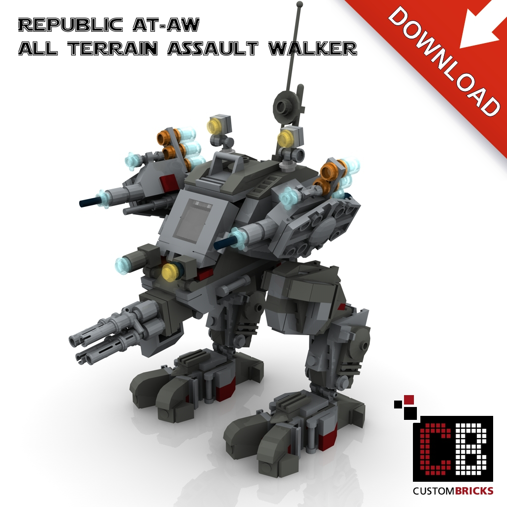 custom bauanleitung f r at aw all terrain assault walker markenwelt voegele. Black Bedroom Furniture Sets. Home Design Ideas
