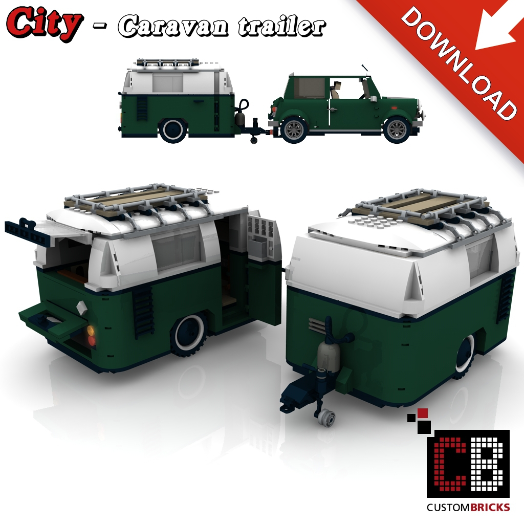 custom bauanleitung f r wohnwagen f r lego steine z b f r den mini cooper 10242 markenwelt. Black Bedroom Furniture Sets. Home Design Ideas