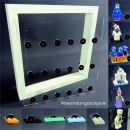 Inlet for Ribba frame Showcase for LEGO® series Space for 18 figures
