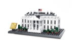 Wange White house in Washington 27 cm long, 18 cm wide and 15 cm high