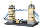 Wange Tower Bridge in London 49 cm long, 18 cm wide and 27 cm high